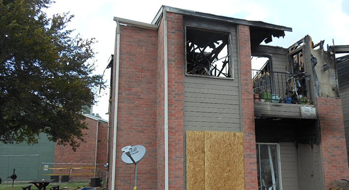 Apartment Fire in Sherman, TX - Public Claims Adjuster